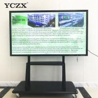 Ultra HD 4K Infrared Touch Screen Monitor , Smart Board Interactive Display Manufactures
