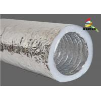 HVAC System Customized Size 2 Layers Insulated Flexible Ducting Flexible Insulated Manufactures