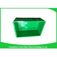 Industrial Small Plastic Stackable Containers , Plastic Moving Containers Manufactures