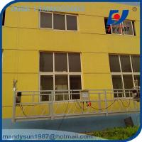 ZLP800 Hot Galvanized and Aluminum Working Platforms Used for High Windows Cleaners Manufactures