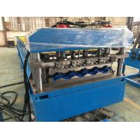 5 - 8 m / min Fast Speed Color Steel Roof Tile Forming Machine One Complete Chain Drive Manufactures