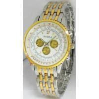 Gold Plating Multifunction Quartz Chronograph Watches Manufactures