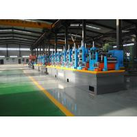 Carbon Steel Erw Tube Mill Line With Worm Gearing Adjustable Manufactures
