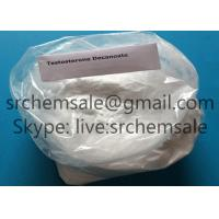 Quality Anabolic Raw Testosterone Powder Safe Muscle Building Steroids Test Decanoate CAS 5721-91-5 for sale