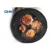 Black Jacket Rubber Insulated Flexible Cable Excellent Electrical Properties Manufactures