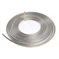 Bright ASTM 316 316L Stainless Steel Pipe Coil Welded Seamless For Chemical Industry Manufactures