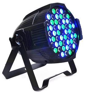 High brightness 54*3w par64 rgbww led par can light daisy chain circut stage dj lighting animation disco laser party lig Manufactures