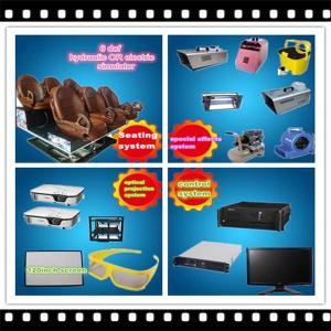 2015Hot sale motion 5d cinema chair Manufactures