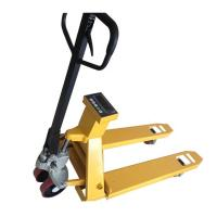 Multifunctional Pallet Weighing Scales , Pallet Weighing Machine Yellow Color Manufactures