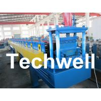 Top Hat Channel Cold Roll Forming Machine for Steel Furring Channel Profiles Manufactures