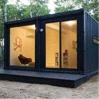 Dismountable Movable Prefab House 20ft 40ft Tiny Prefab Container House Ready Designed Manufactures