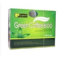 Leptin Green Coffee 800 Bean Extract  For Healthy Weight Loss Dieting Drink Manufactures