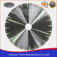 High Efficiency Diamond Silent Walk Behind Concrete Saw Blade 5 / 6 / 7 Manufactures