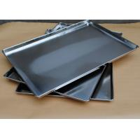 Full Size Stainless Steel Baking Pans For Oven , Kitchen Service Food Trays Manufactures