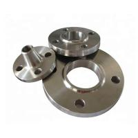 Plate Stainless Carbon Steel Plate Flanges , Car Accessories Exhaust Pipe Flange Manufactures