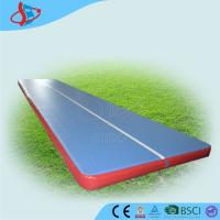 China Airtight Inflatable Air Track For Tumbling / Safe Inflatable Air Track on sale