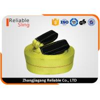 3 4 Polyester Heavy Duty Tow Straps US Type Logo Printing Towing Belt For Car Truck Manufactures