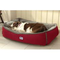 China Soft Memory Foam Dog Bed Heavy Suede Covered 12lbs Weight Orthopedic Design on sale