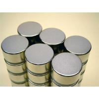 Strong Neodymium  Magnets Cylinder N52 with Epoxy Coating Manufactures