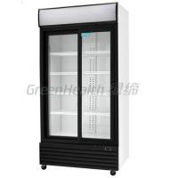 LED / T5 Light Commercial Upright Freezer Glass Door With Tecumseh Compressor Manufactures