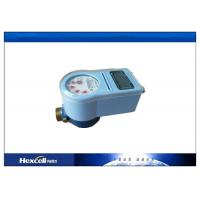 Intelligent Cold / Hot IC Card Water Meter Brass Body Touch Type Manufactures