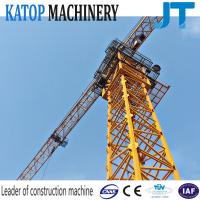Factory supply 6t load hammer top tower crane TC5610 tower crane with CE Manufactures