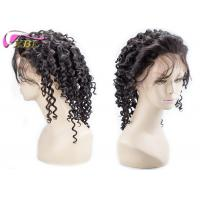 Short Full Lace Brazilian Human Hair Wigs 150% Density With 4 Clips Inside Medium Size Manufactures