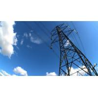 Galvanized Steel Lattice Tower Power Transmission Line  Towers 20 M ~ 50 M 4L Manufactures