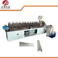 Running Stably Steel Stud Roll Forming Machine With Automatic PLC Control Manufactures