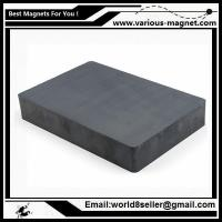 Size:F84X64X14/Ferrite block magnet for magnetic separator with high magnetic induction Manufactures