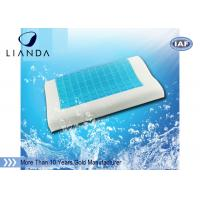 Memory foam cool gel pillow pad pressure relief and temperature regulation Manufactures