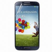 Screen protector for Samsung S4, shiny like diamond under sunshine  Manufactures