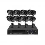 H.264 AHD DVR Kit 1080 Bullet Camera Home Security CCTV Camera Multi - Level Sensitivity Manufactures