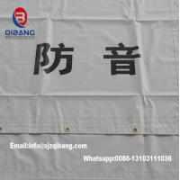 PVC Sound Barrier Sheet fireproof mesh tent tarpaulin fabric construction fence Manufactures