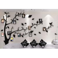 living room decor lovely sticker tree wall acrylic kids wall sticker photo frame tree wall sticker Manufactures