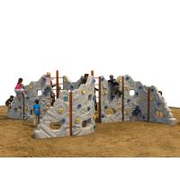 Kids Garden Climbing Wall , Diy Kids Rock Climbing Wall ASTM Manufactures
