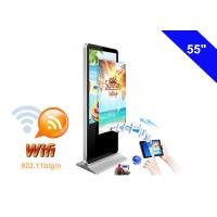 WIFI Digital Signage Full HD Advertising LCD Display Kiosk with USB Memory card Manufactures