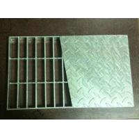 Hot Dipped Galvanized Steel Checker Composite Grating for platform Manufactures
