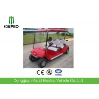Red Color Model 4 Wheel Drive Electric Golf Carts For Sports And Entertainment Manufactures