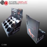 Corrugated canton tabletop displays box for sprays Manufactures