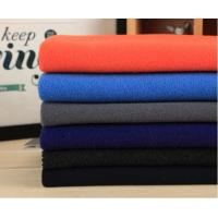 380GM 253 GSM Flannel Wool Fabric , Plaid Flannel Fabric Woolen Yarn Type Manufactures