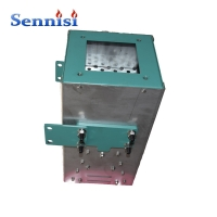 China 116kw Two Stage LPG / NG Gas Linear Burner Industrial Hot Air Heater Automatic gas heater head on sale