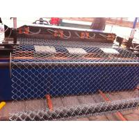 Professional Chain Link Fence cyclone wire fence roll 1.22m x 25m standard roll color green Manufactures