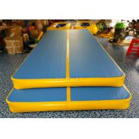 Double Wall Fabric Inflatable Air Track Anti Shock CE / UL Approved Manufactures