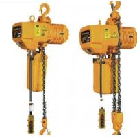 China 3 Ton 8m Hook Electric Chain Hoists 50Hz 380V 3P For Heavy Duty Industry on sale