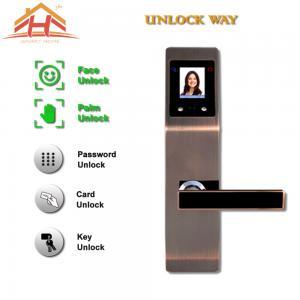 Zinc Alloy Interior Face And Biometric Fingerprint Door Lock 8-12 Months Life Manufactures