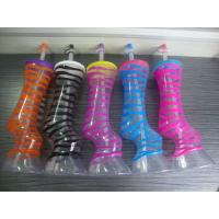 Quality creative plastic cup with lids and straws for sale