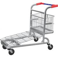 China OEM design Supermarket Shopping wheeled Trolleys Warehouse Series HBE-W-14 on sale