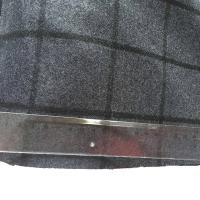 Eco - Friendly Wool Plaid Fabric / Tartan Upholstery Fabric Soft Hand Feeling Manufactures