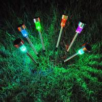 Outdoor Solar Power LED Garden Lights Lawn Lamps Spot Light  IP65 White RGB  CE Rohs Manufactures